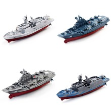 2017 New Arrival Remote Control Challenger Aircraft Carrier RC Boat Warship Battle Ship Child Gift