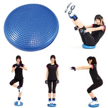35cm PVC Balanc Yoga Balls Massage Pad Wheel Stability Balance Disc Massage Cushion Mat fitness ball Exercise Powerball