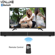 Vonluxe Bluetooth Soundbar For TV Wireless Stereo Loudspeaker Home Theatre System Column RC Subwoofer Bluetooth Speaker For PC