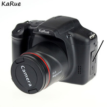 KaRue XJ05 Digital Camera SLR 4X Digital Zoom 2.8 inch Screen 3mp CMOS Max 12MP Resolution HD 720P TV OUT Support PC Video(China)