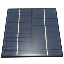 Hot Sale 12V 2W 160mA Polycrystalline silicon Mini Solar Panel module Cell  For Charger DC Battery DIY 136x110mm
