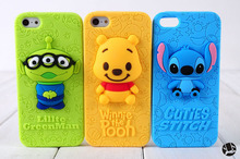 "Stich Case 3D Cute Silicone Cover For IPhone 6 5.5"" Cases, Fashion 3D Stitch Back Housing Case for IPhone 6 5.5inch"