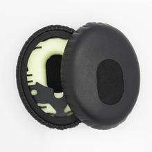 2pcs/pair Soft Headphone Case Foam Ear pads For BOSE QC3 OE 1.0 ON-EAR with Buckle Headphones Replacement Sponge Leather Covers