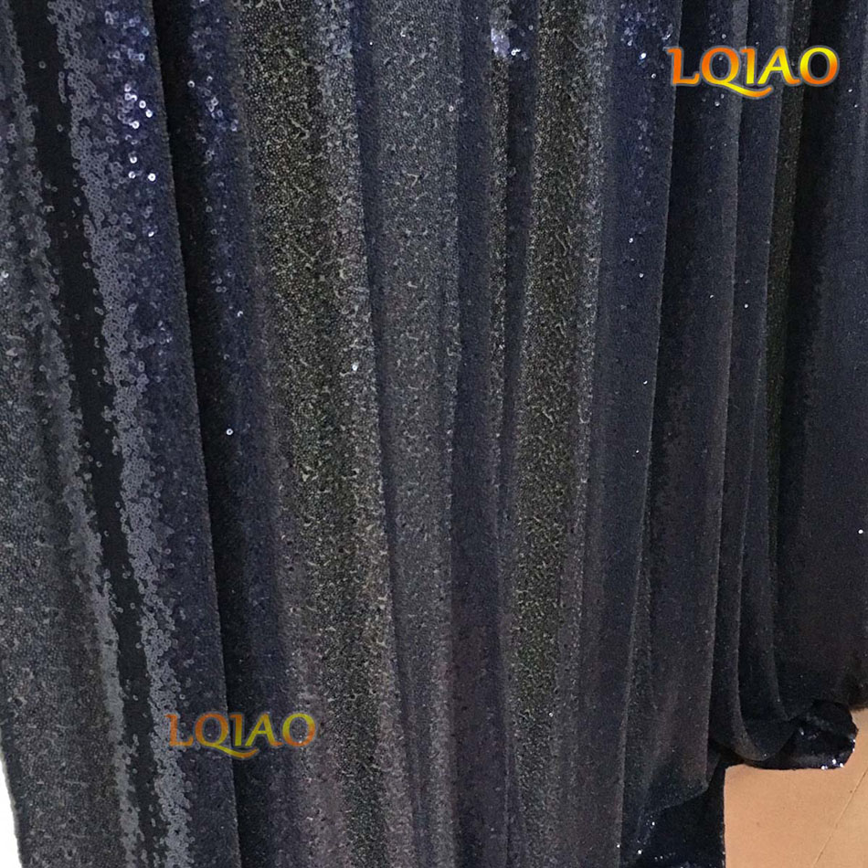 YS-Navy Blue Sequin Backdrop-004