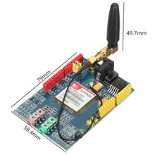 1PC New SIM900 module development board GSM GPRS wireless data transmission over Module For Arduino(China)