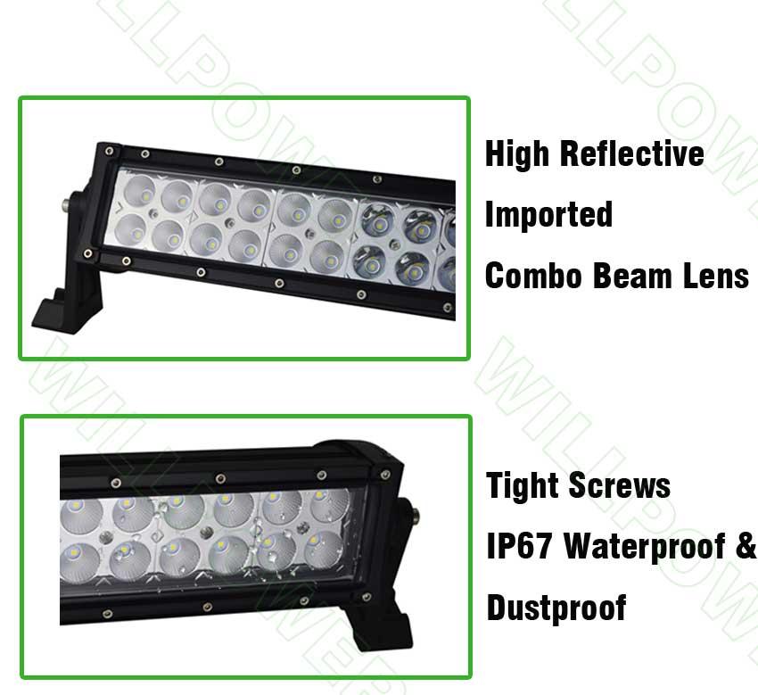 240W 42inch led light bar offroad bar (2)