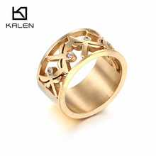 High Quality Stainless Steel Five Dragonflies Insect Ring Fashion Rings For Women Kalen Gold Color Jewelry Dropship Suppliers
