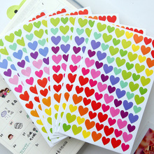 Notebook Stickers Class Sticky Paper Lable Classic Adesivi Kawaii Diary Sticker 3 Styles Children Stickers 6 Sheets/Set