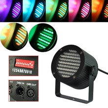New 86 RGB LED DMX Stage Light Lighting Laser Projector Party Show Disco 90-240V 25W Free shipping wholesale