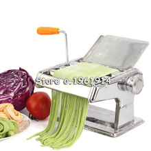 Free Shipping Home kitchen cooking tools noddles pasta maker machine manual noodle press making machines pasta cutter gadgets(China)
