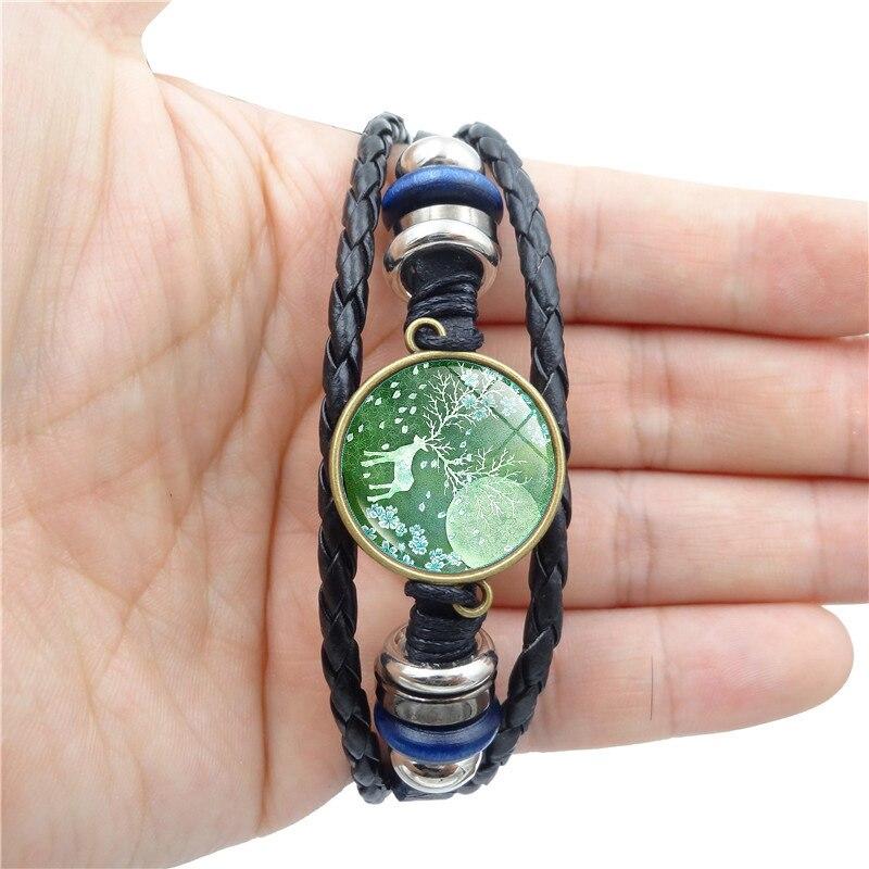 NEW 2018 Simple Fashion Elk time gem bracelet High...