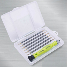 The Best Quality 6 + 1 Portable Screwdriver Kit Set Precision Professional Repair Hand Tool & Box Lowest Price(China)