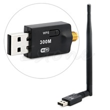 1pc 300Mbps USB Wireless Wifi Adapter Dongle LAN 802.11n/g/b Internet Network