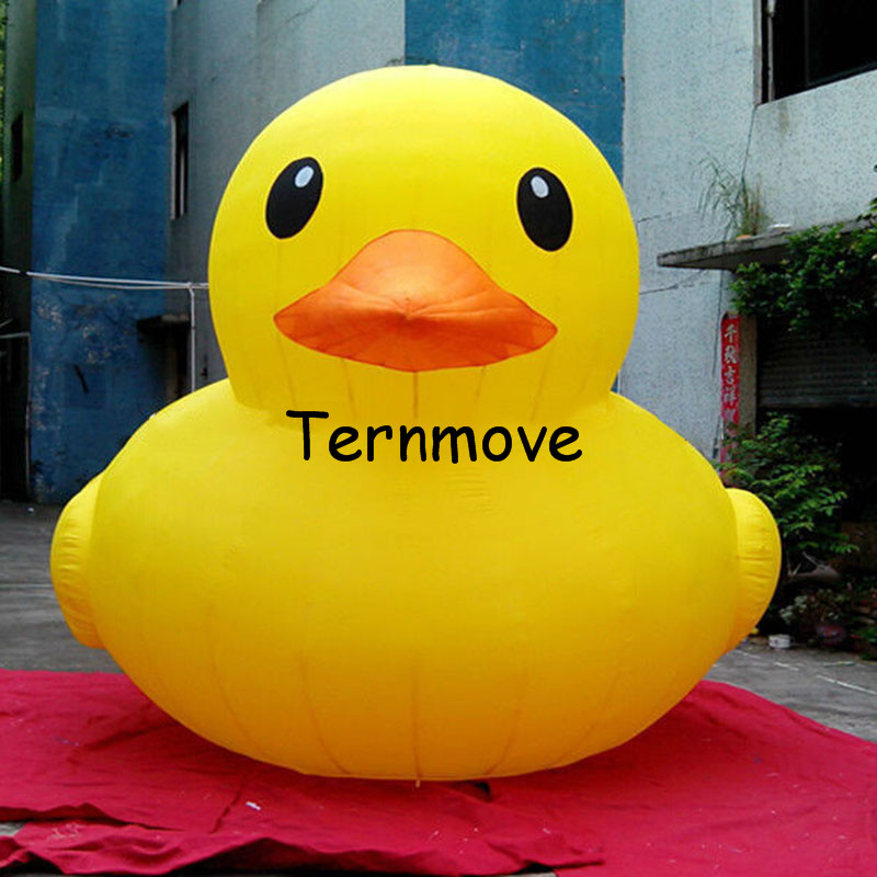 Giant Inflatable Yellow Air Duck2