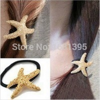 Hot Sales fashion lovely Starfish star hair band hair clip hair Accessories jewelry--CRYSTAL SHOP Free shipping