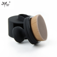 New Arrival Foundation Brush Unique Design Makeup Brushes High Quality Round Make Up Brushes For Liquid Cosmetic Products(China)
