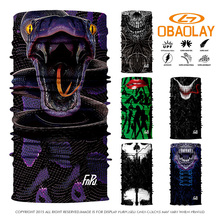 Custom 800 Styles Select Nice 3D Fish Design Bandanas Washouts Seamless Ride Mask Bicycle Magic Scarf For Men Sport Headband