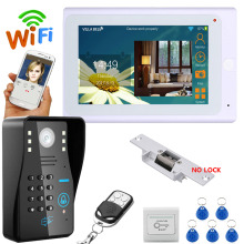 Buy YobangSecurity 7 Inch Monitor Wifi Wireless Video Door Phone Doorbell Camera Video Door Entry Intercom System Android IOS APP co.,ltd) for $182.19 in AliExpress store