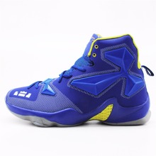 Men Adult Boy High Quality Sneakers Black and White Basketball Boots Indoor Basketball Shoes #BS2008R(China)