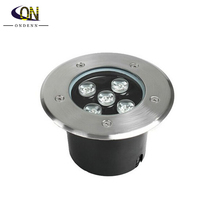 Free Shipping AC85~265V/DC12V 5W High Power LED Underground Lamp Waterproof IP67 Outdoor Underground Light led floor uplighter