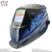 Lightning Laser Black Sermi-automatic LED Senor Welder Equipment Mask Filter Mascara Big View Full Face Protect TRQ-GD01-2200DE(China)