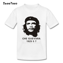 Che Guevara children's T Shirt Pure Cotton Round Neck Short Sleeve Tshirt Teeshirt Boys Girls 2017 Best Selling T-shirt For Baby