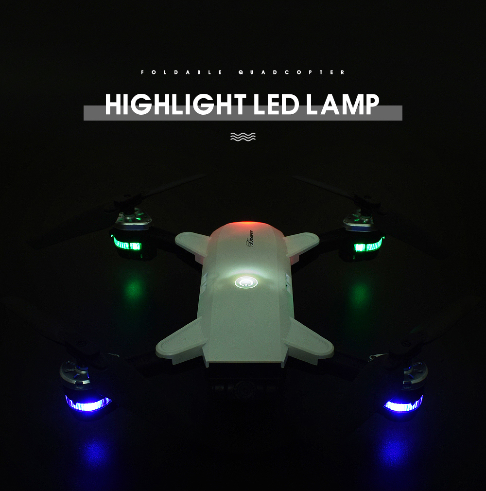 15.New 2.4Ghz 4ch foldable FPV rc drone with 2MP wide angle wifi camera
