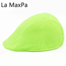 Candy colors Spring Berets England Style Beret Hats for Men or Women Visor Cap