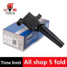 (TORCH) Ignition Coil OEM NO:FD505/4M5G-12A366-BC/-BB/-BA/1224925/1314271/1322402/DQG1215 for Ford Escape Focus/Mazda 3/6/Volvo(China)