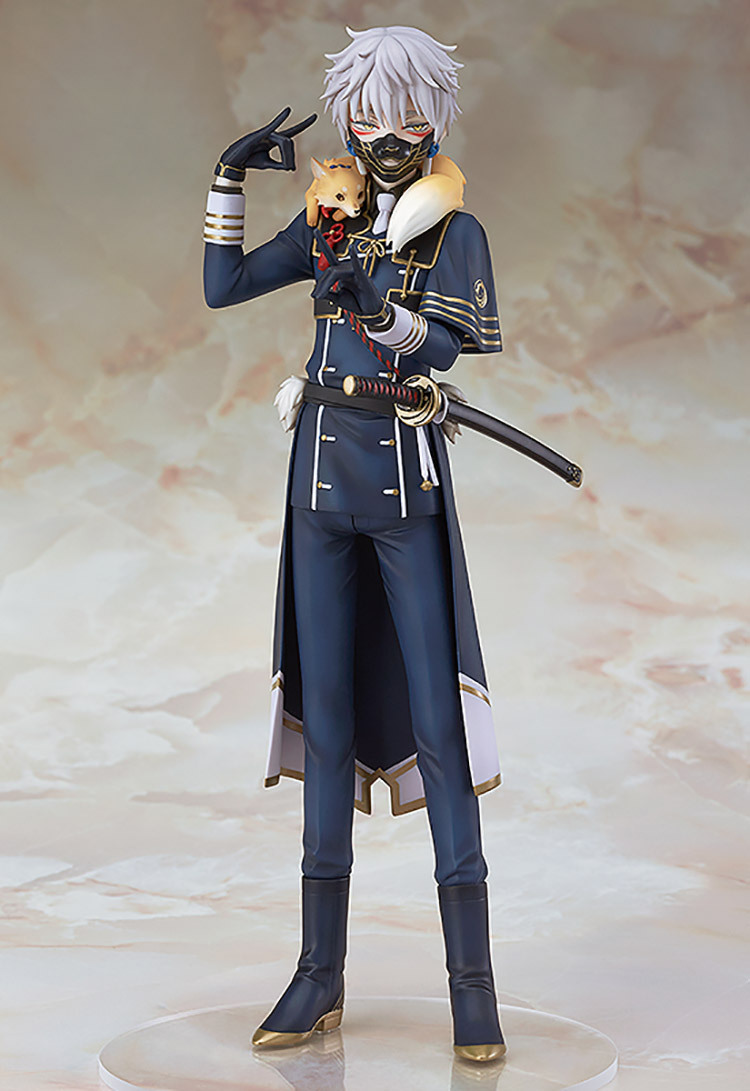 Japan Anime Tobyfancy Touken Ranbu Online Nakigitsune Figure PVC Action Figure Collection Model Toys Doll 20CM<br>