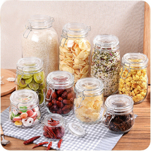Multifunction Seal up Class Storage Bottle Crisper Box Sealed Transparent Box Kitchen Sorting Refrigerator Food Storage Box(China)
