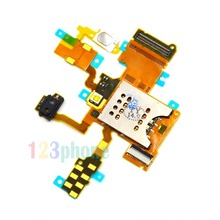 BRAND NEW SIM SLOT HOLDER FLEX CABLE FOR SONY ERICSSON XPERIA RAY ST18i #F-917