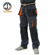 Men Cargo Pants Canvas Trousers Working Pants(China)