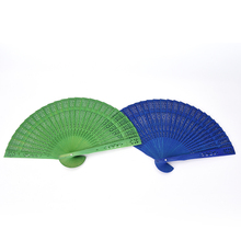 DIY Folding Chinese Hand Fan Chinese Hand Paper Fans Pocket Folding Bamboo Fan Wedding Party Decoration Hand Fans