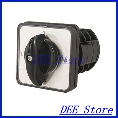 Ui 380V Ith 10A 4 Position Universal Change Over Switch<br><br>Aliexpress