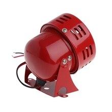"""12 В автомобиля Грузовик Мотоцикл приводом красный воздушный RAID сирены Рог сигнализация 50-х годов универсальный 3 """"Диаметр подлинный звук(China)"""