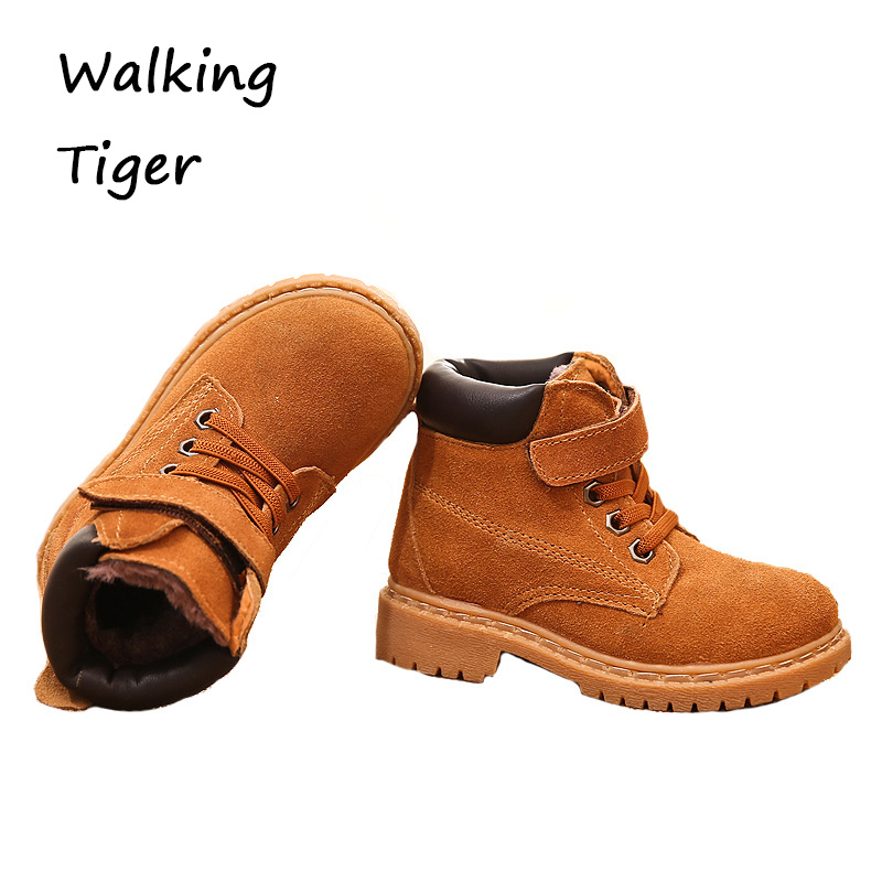Boys girls boots kids shoes winter fashion girl boy boot rubber kids black red shoe leather<br>