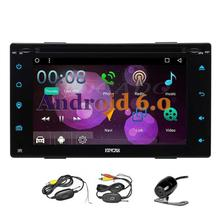 Android 6.0 Double two din 2 Din 7inch GPS Car DVD GPS Radio WIFI Supports DAB+ Digital TV 4G 3G OBD2 steering wheel control RDS