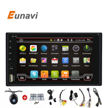 Quad Core 2 Din Pure Android 6.0 Car DVD Player Navigation Stereo Radio GPS WiFi 3G Touch Screen Back Camera Car PC 170*96(China)