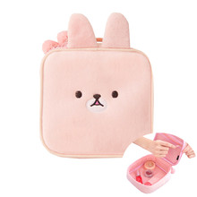 Cute Rabbit Cosmetic Bag Cartoon Bear Girl's Mini Pouch Travel Wash Makeup Tools Organizer Case Box Accessories Supplies(China)