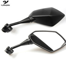 1 Pair Racing Moto Motorcycle Mirror Racer Rearview Back Side Mirror For Kawasaki Ninja 300 250 250R 650 ZX6R ZX10R Z800 ZZR 600(China)