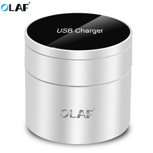 Olaf Multi Port Travel Charger 10 USB 40W Charge Station For iPhone 6S Se 7 Plus iPad Mini Samsung Huawei Nexus AC Power Adapter(China)