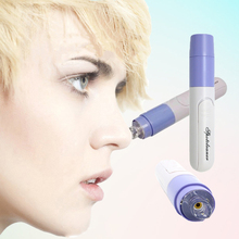 Mini Handheld Facial Cleaning Blackhead Vacuum Suction Zit Acne Remover Cleaner Machine Skin Protection Pore Cleansing Device