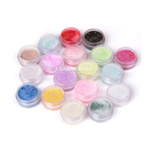 18 Beauty Nail Gel Nail Art Acrylic Powder Colors Set Bulider Cave Acrylic Nail Sculpture For UV Gel Tips Clear(China)