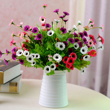 7 artificial flower silk flower dried flowers artificial flower daisy artificial chrysanthemum