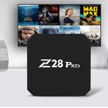 Mesuvida Z28 Pro RK3328 Cortex - A53 Smart TV Box Android 7.1 Max 2G RAM 16G ROM HDMI Top Box Support H.265 Smart Media Player