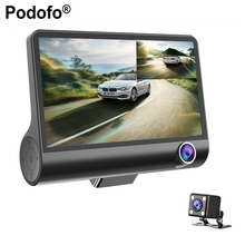 "Podofo 4.0""Car DVR Car Camera Full HD 1080P Dash Cam 170 Degree Wide Angle Dual Lens Night Vision G-sensor Video Cycle Recording(Hong Kong,China)"