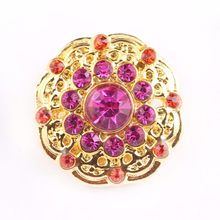 Royal Luxury 18mm Snap Button For Wedding Ball Party Wearing Women Jewelry Accessories Mother Girl Friend Gift Wholesale(China)