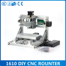 GRBL control Diy 1610 mini CNC machine,working area 16x10x3cm,3 Axis Pcb Milling machine,Wood Router,cnc router(China)