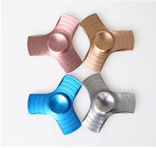 Buy 10 PCS EDC Hand Spinner Metal Tri-Spinner Fidget Toys Pattern Fidget Spinner ADHD Adults Children Educational Toys Gifts for $44.51 in AliExpress store